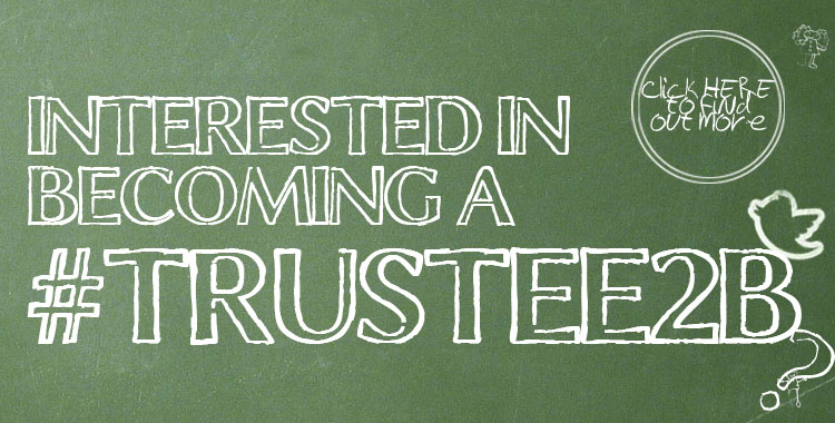 #Trustee2B – Become a Trustee